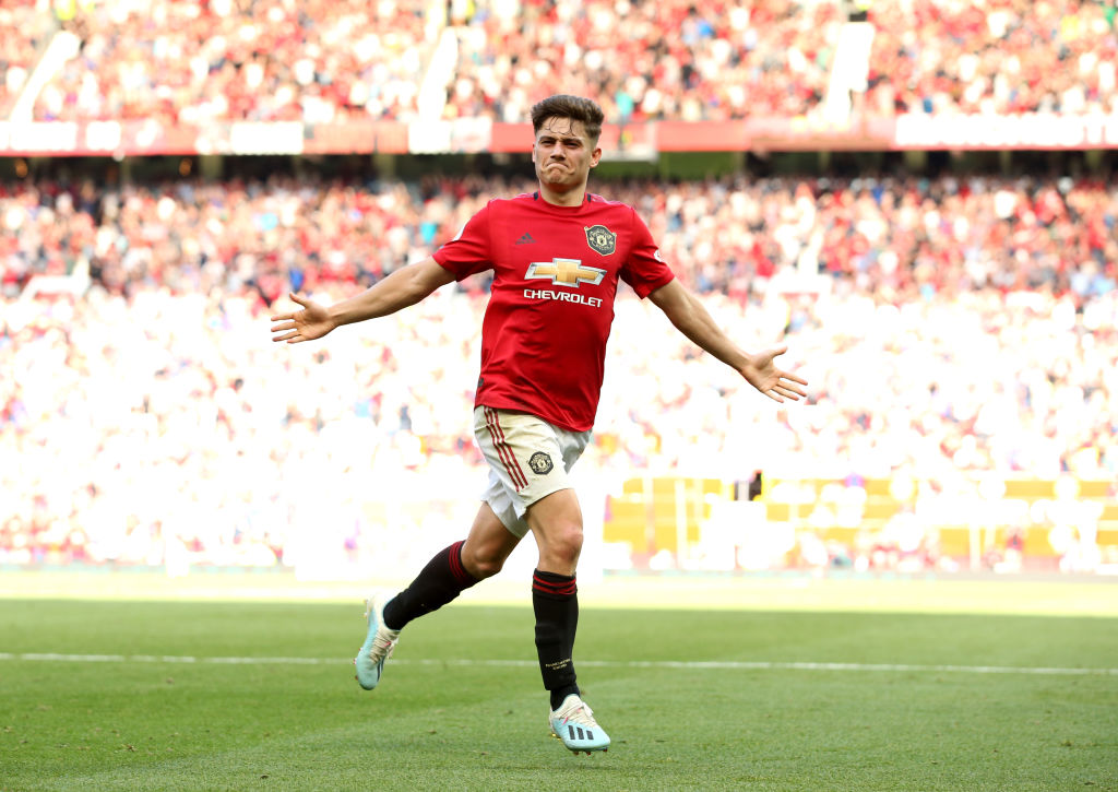 Dan James, United