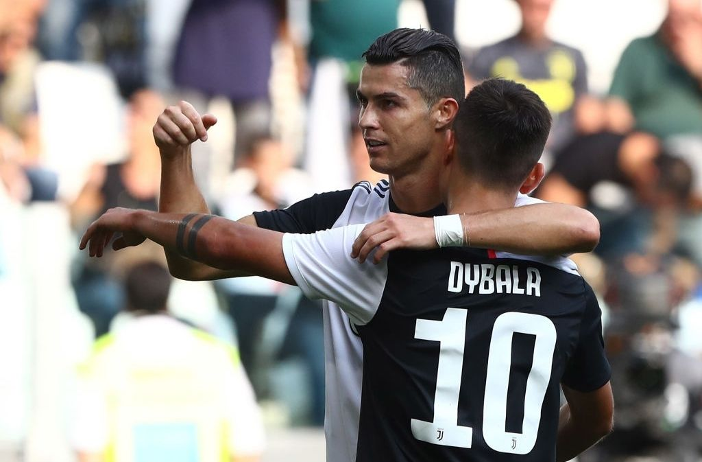 Ronaldo Dybala Deserve A Lot Of Credit For Serie A Title Says Sarri