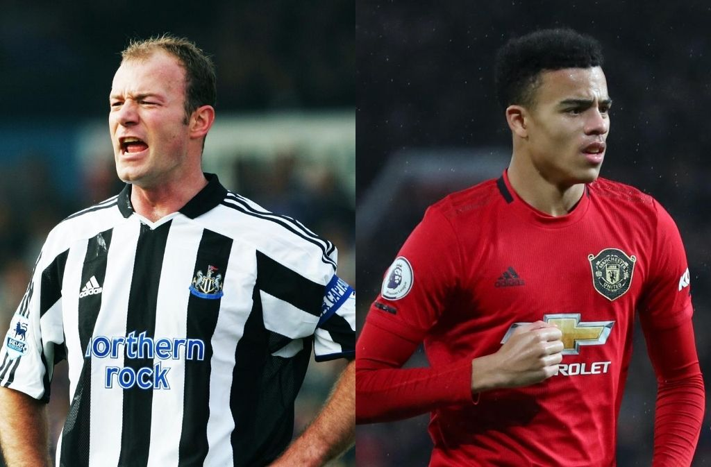 Alan Shearer, Mason Greenwood, Premier League