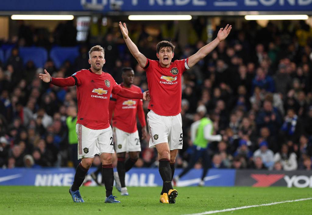 Maguire, Shaw, united