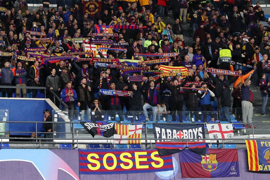 SSC Napoli v FC Barcelona - UEFA Champions League