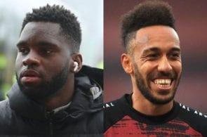 Odsonne Edouard, Pierre-Emerick Aubameyang, Arsenal