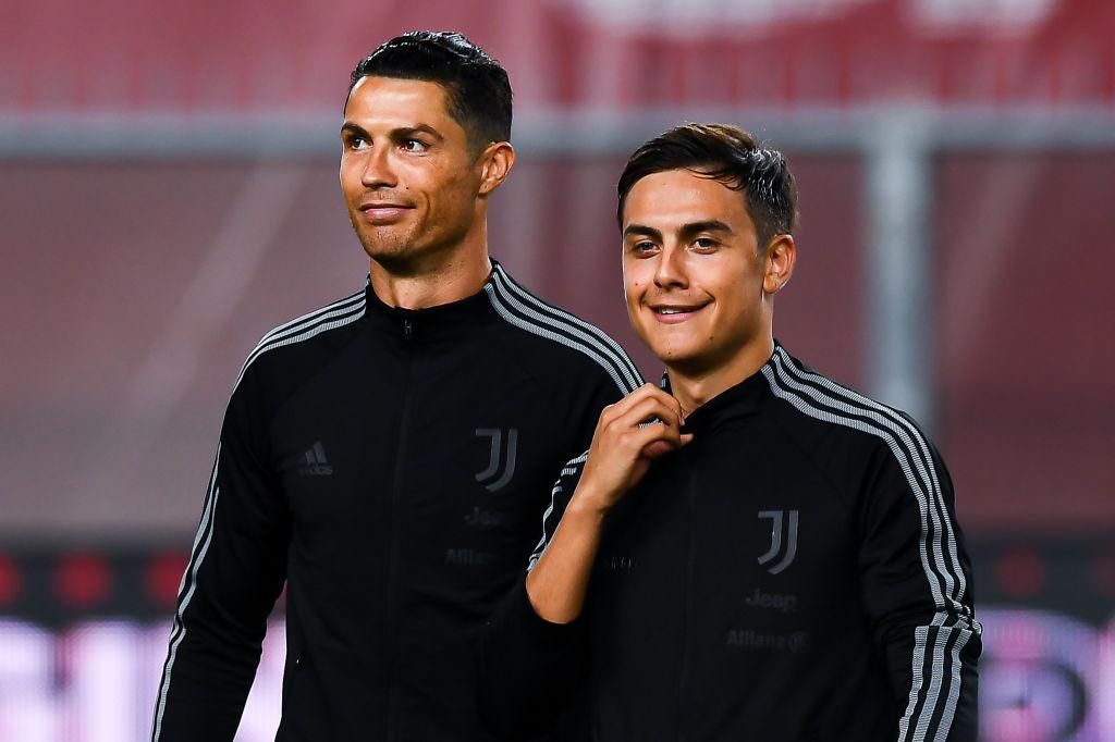 Ronaldo, Dybala, Juventus