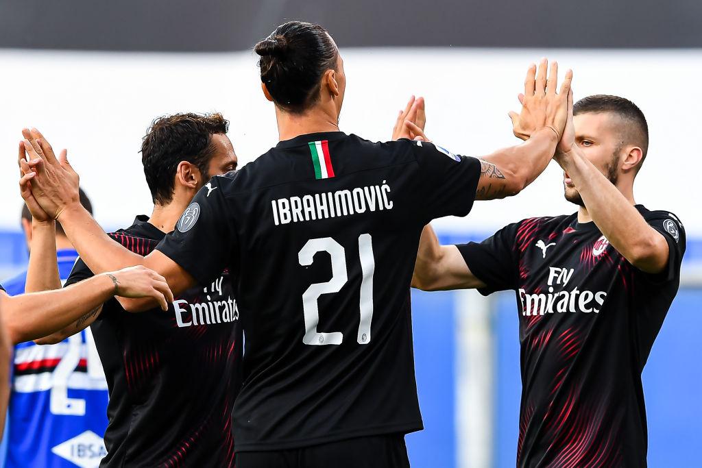 Zlatan, AC Milan
