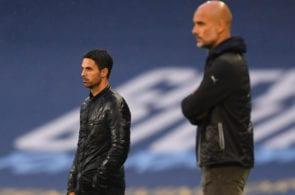 Pep Guardiola, Mikel Arteta
