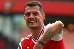 Granit Xhaka's resurrection at Arsenal has been understated