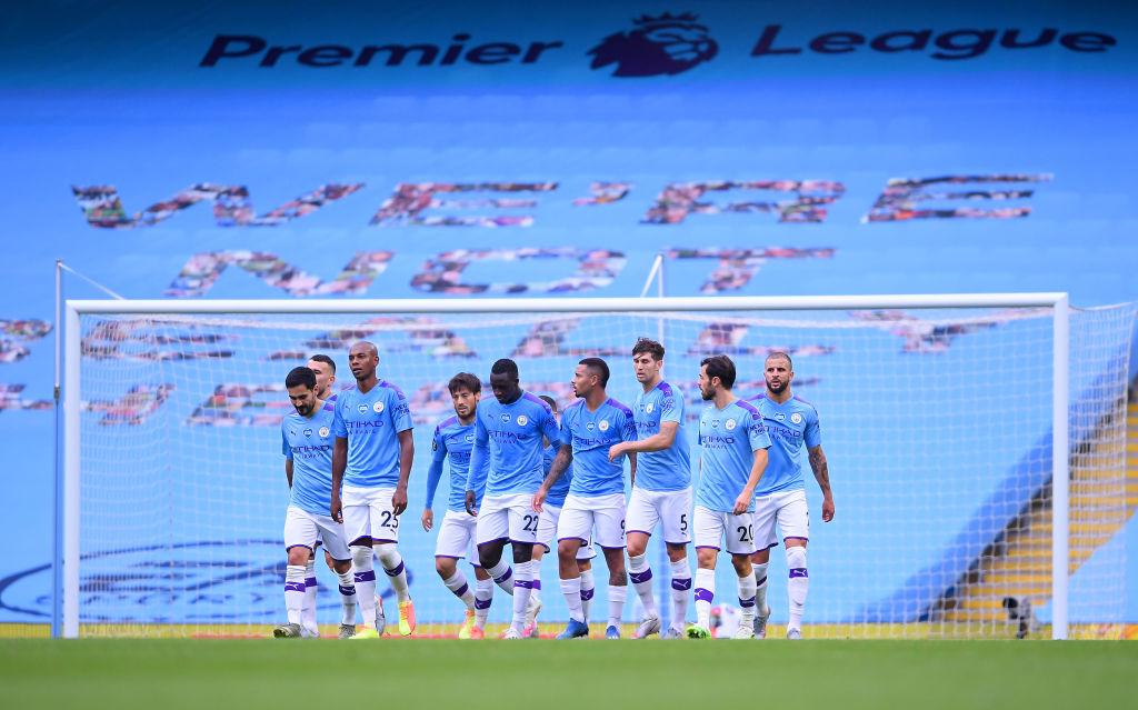 Manchester City, centre-backs