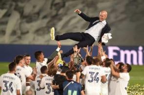 Zidane, Real