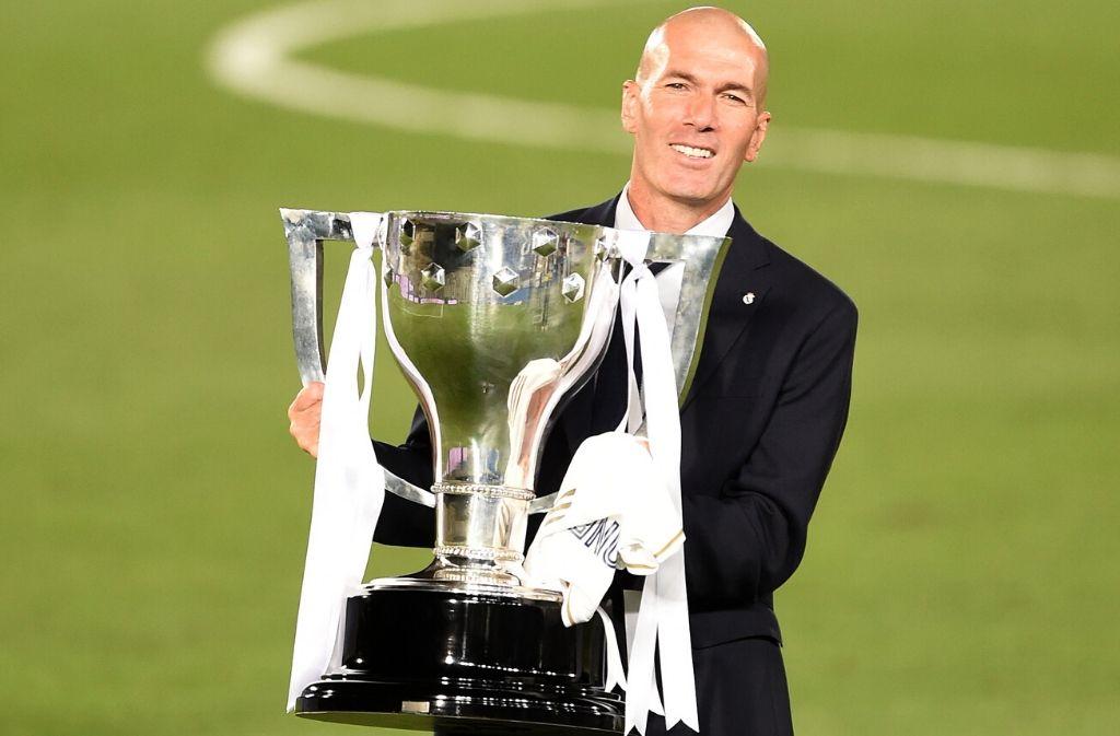 Zinedine Zidane, Real Madrid, La Liga, Cristiano Ronaldo