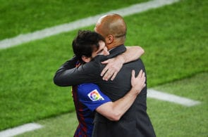 Messi, Guardiola