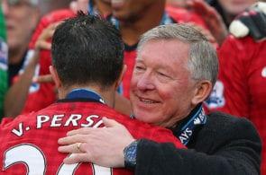 Robin van Persie, Sir Alex Ferguson, Manchester United