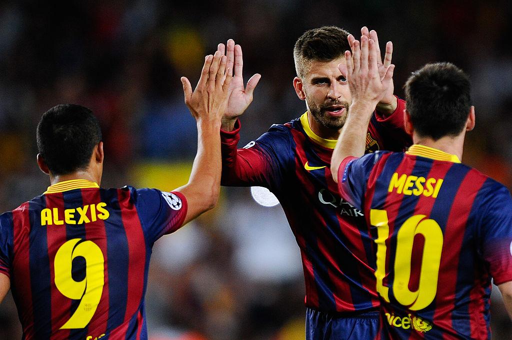 Messi, Sanchez