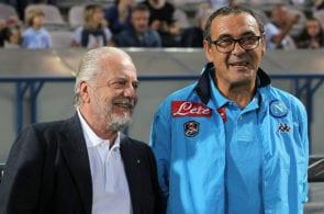 Aurelio De Laurentiis, Maurizio Sarri, Napoli