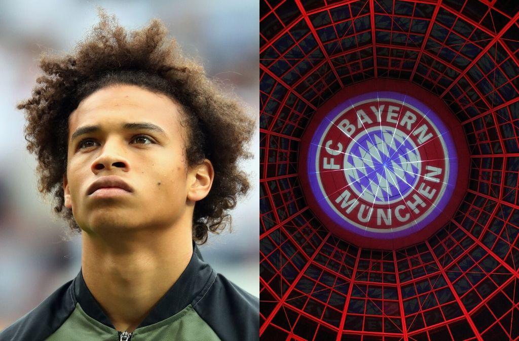 Leroy Sane, Bayern Munich, Champions League
