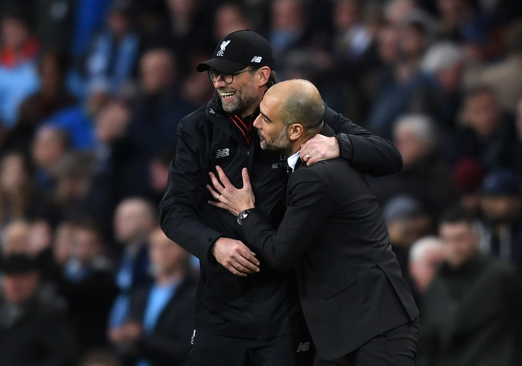 Pep Guardiola, Klopp, Liverpool