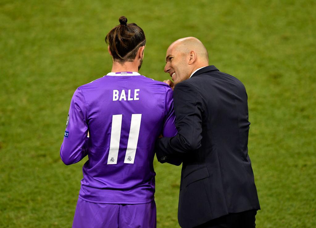 Zinedine Zidane, Gareth Bale