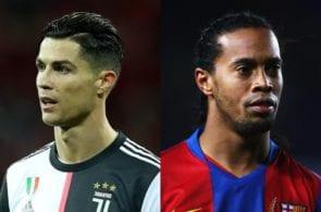 Cristiano Ronaldo, Ronaldinho, Manchester United