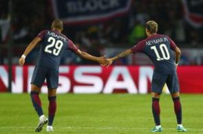 Neymar, Mbappe