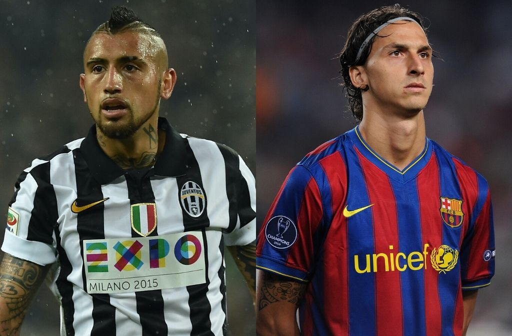 Top 5 footballers to have played for Juventus & Barcelona
