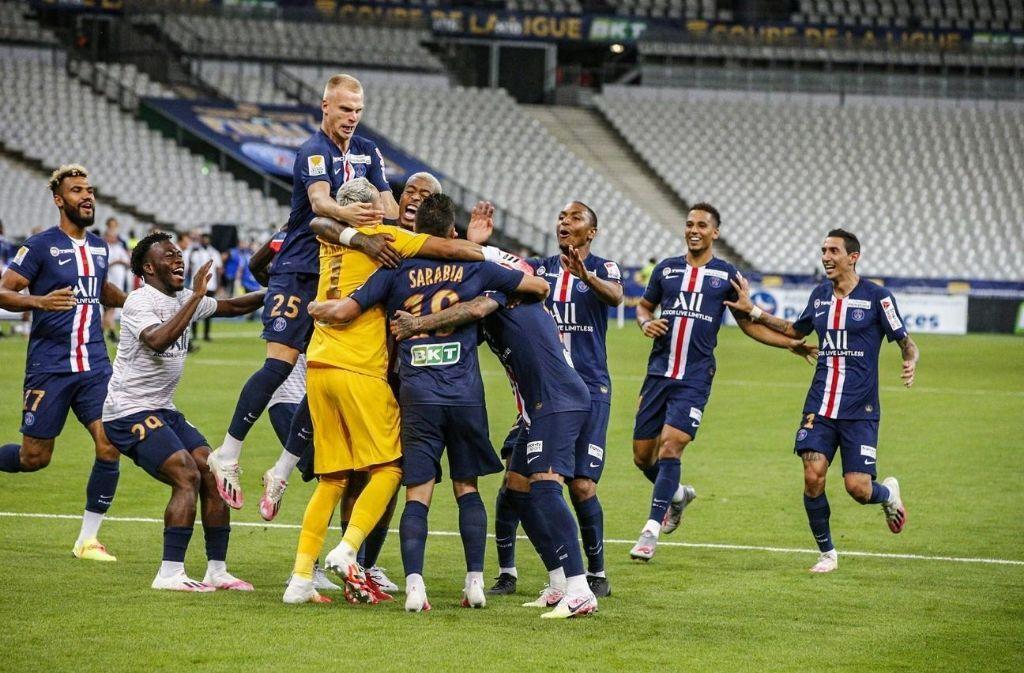 PSG win Coupe de la Ligue title