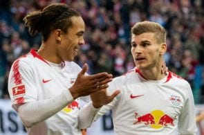 Youssef Poulsen, Timo Werner - RB Leipzig