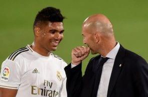Casemiro, Zinedine Zidane - Real Madrid