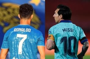 Cristiano Ronaldo of Juventus - Lionel Messi of FC Barcelona