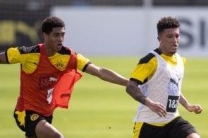 Jude Bellingham, Jadon Sancho - Borussia Dortmund