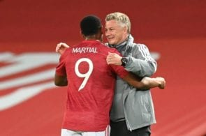 Anthony Martial, Ole Gunnar Solskjaer - Manchester United