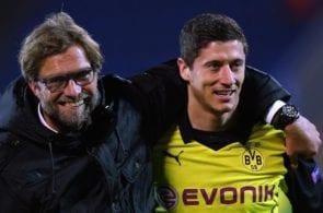 Jurgen Klopp, Robert Lewandowski - Borussia Dortmund