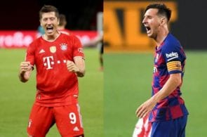 Messi, Lewandowski
