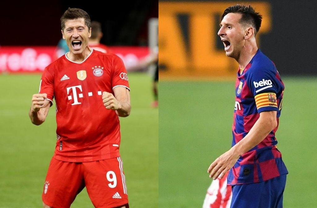 Messi, Lewandowski