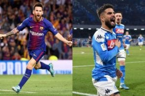 Barcleona vs Napoli