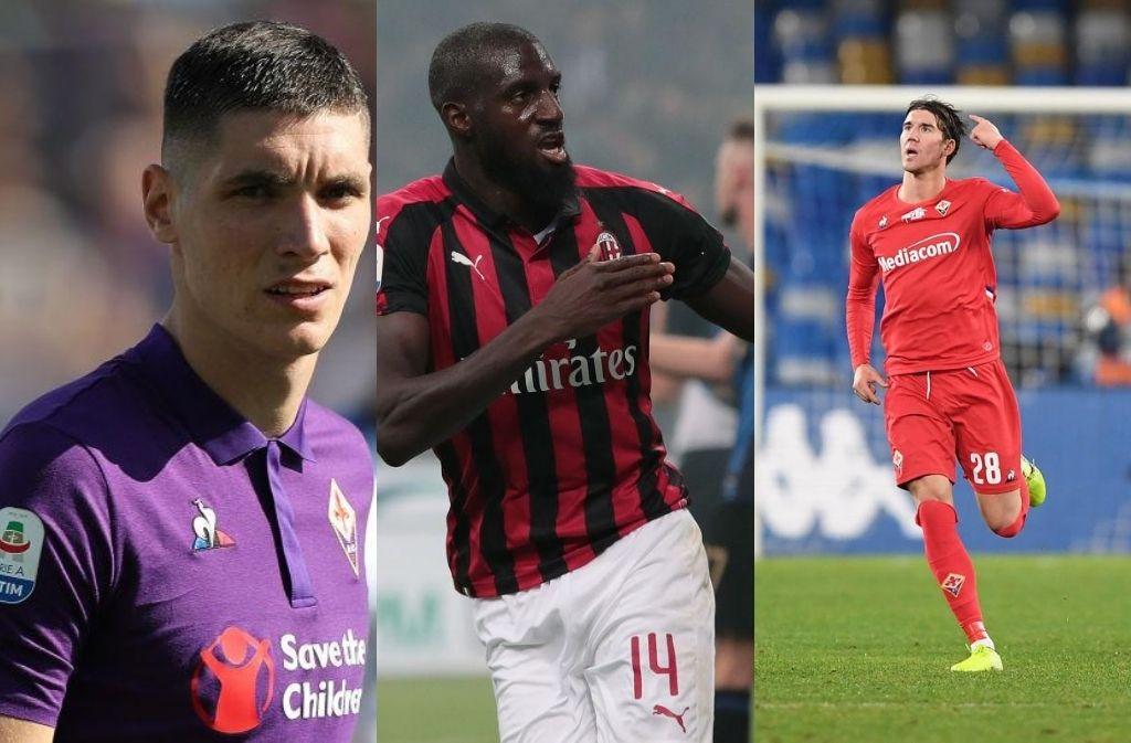 Milan, Milenkovic, Bakayoko, Vlahovic