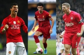 Jones, Ronaldo, gerrard