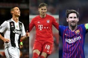 Ronaldo, Messi, Goretzka