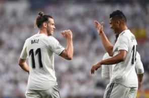 Gareth Bale, Casemiro, Real Madrid