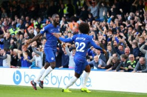 Antonio Rudiger, Willian