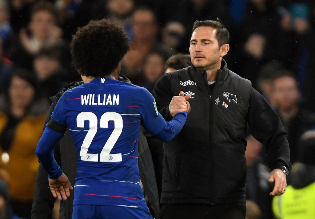 Willian, Lampard