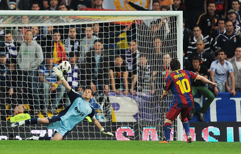 Casillas, Messi