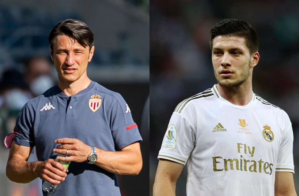 Niko Kovac, Luka Jovic, AS Monaco