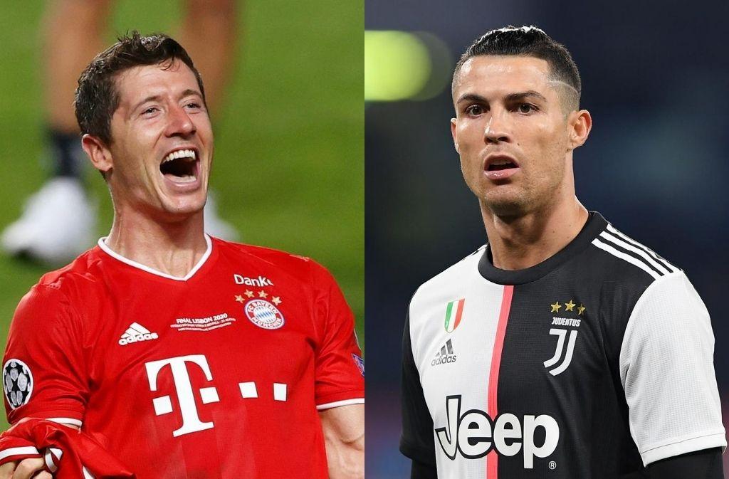 Robert Lewandowski, Cristiano Ronaldo