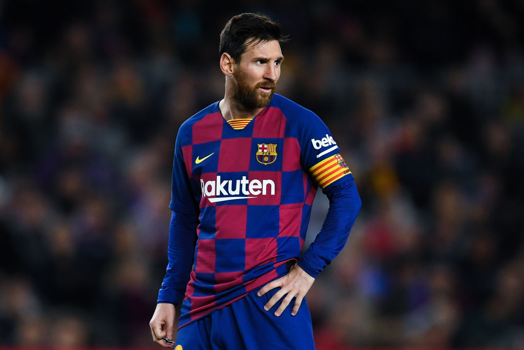 Conte talks on Messi to Inter