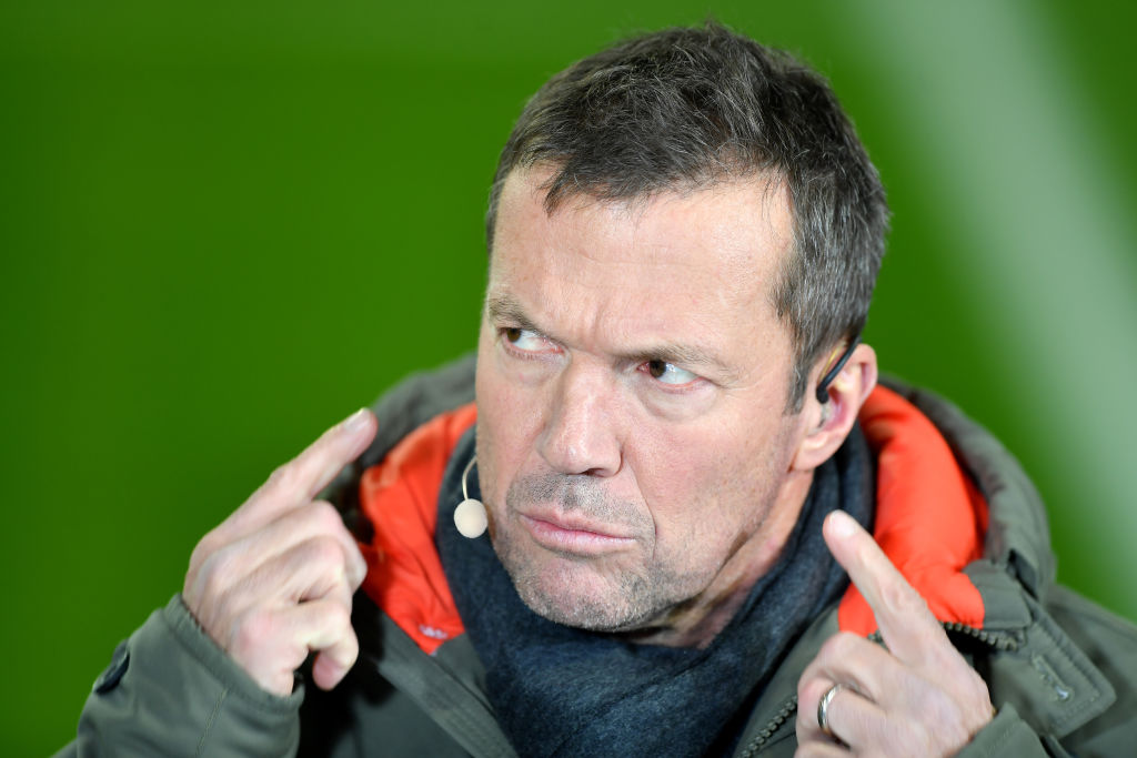 Lothar Matthaus, Bayern Munich vs Barcelona