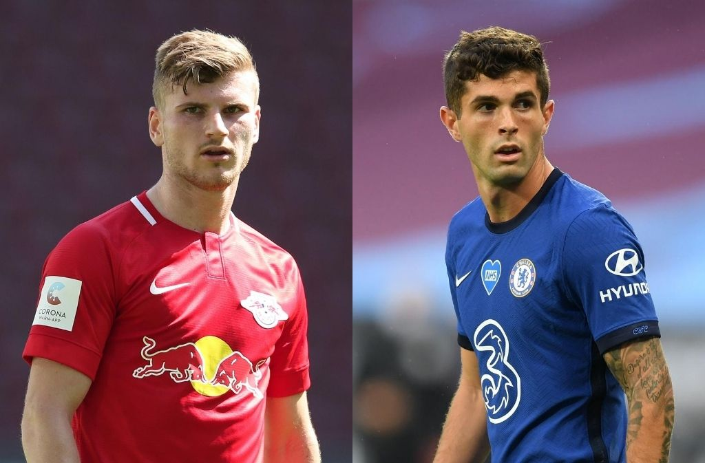 Timo Werner, Christian Pulisic, Chelsea