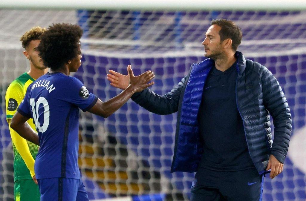 Frank Lampard, Willian, Chelsea