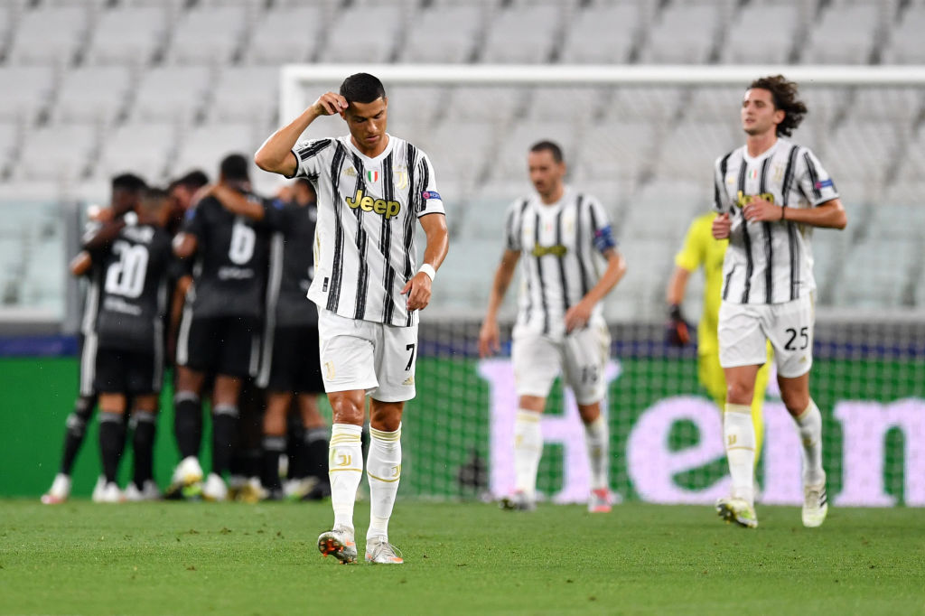 Juventus disappointed against Lyon