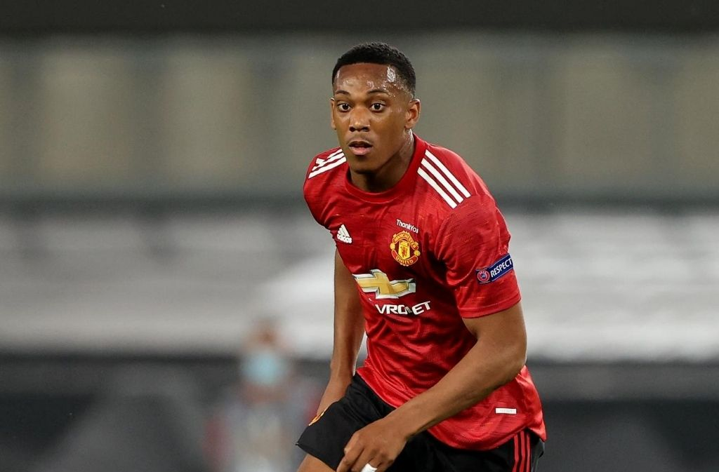 Anthony Martial, Manchester United, Europa League