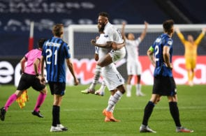Atalanta lose to PSG