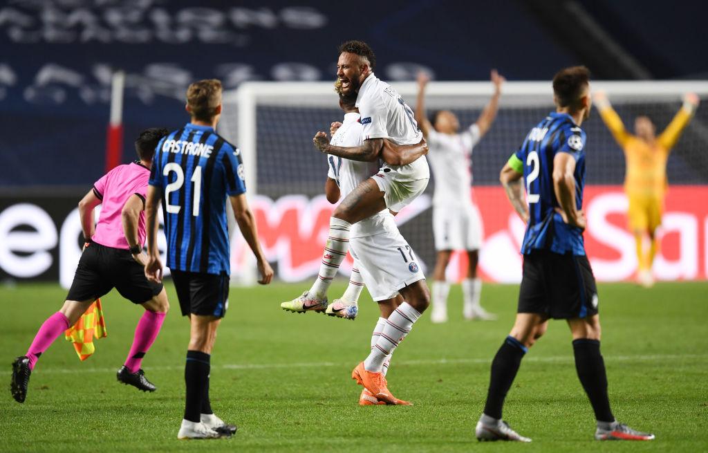 Atalanta lose to PSG